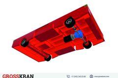 Самоходные грузовые аккумуляторные тележки 3D