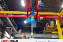 GROSSKRAN легкая двухбалочная крановая система с выдвижной консолью в г. Самара