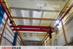 Легкая крановая система GROSS длинной 36 метров