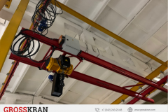 Двухбалочный кран GROSSKRAN 2000 кг