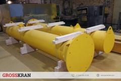 Упаковка колонн для консольного крана г/п 1 тонна