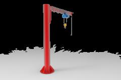 Консольные краны с Механическим поворотом на 270 градусов