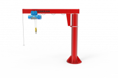 Консольные краны с Механическим поворотом на 360 градусов