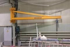 Консольный кран грузоподъемностью 500 кг. в г. Нижневартовск