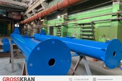 Производство консольных кранов GROSSKRAN