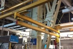 Двухбалочная легкая крановая система длинной 96 метров
