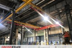 Легкие крановые системы GROSSKRAN на производстве, Челябинская область