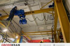 Комплект мостового крана GROSSKRAN 5000 кг для любого помещения