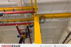 Легкая крановая система 2000 кг и комплект мостового крана 5000 кг