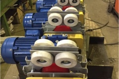 Мотор-редуктор для передвижения кран-балки