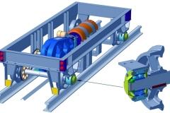 Модель Рельсовая тележка