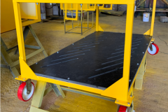 Тележка специальная для межцеховой перевозки лопаток авиационного двигателя