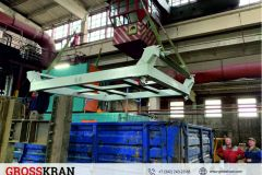 Цеховая тележка для перевозки продукции между участками