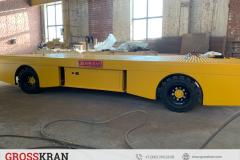 Тележки цеховые аккумуляторные на резиновых колесах