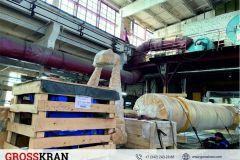 Отправка 8 тонного консольного крана Заказчику