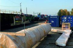 Отправка консольного крана г/п 8000 кг в Магадан для «Павлик золото»