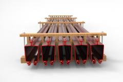 3D модель упаковки силовых профилей GROSSKRAN