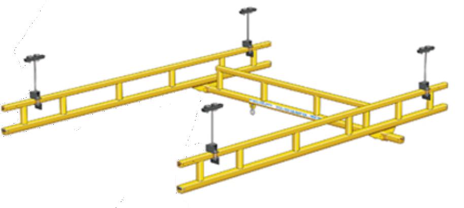 Подвесная легкая крановая система